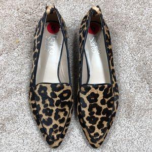 Franco Sarto Leopard Print Studio Loafers